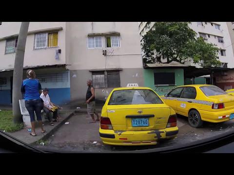 Panama - Driving Into Casco Viejo