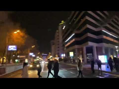 Armenia Yerevan  Northern Avenue/ Hyusisain Poghota / Армения Ереван Северный переулок  02.01.2020