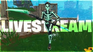 *NEW* Skull Ranger Skin | Fortnite Battle Royale Livestream (PC)