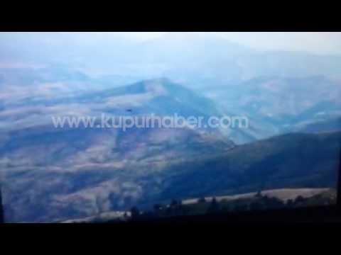 Giresun'daki kazada helikopterin son anı ve düşme görüntüsü sadece kupurhaber.com'da