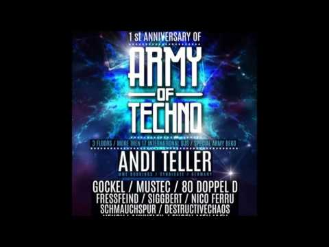 Gockel live @ Borderline 15.04.2016 - 1 Year Army Of Techno