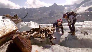 Melting Glacier Reveals Wreckage of WWII-Era U.S. Plane in Swiss Alps