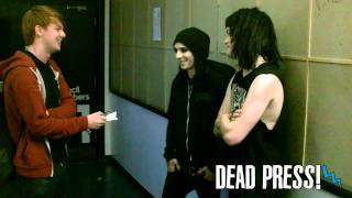 DEAD PRESS! - Interview with Motionless In White (16/09/2013)