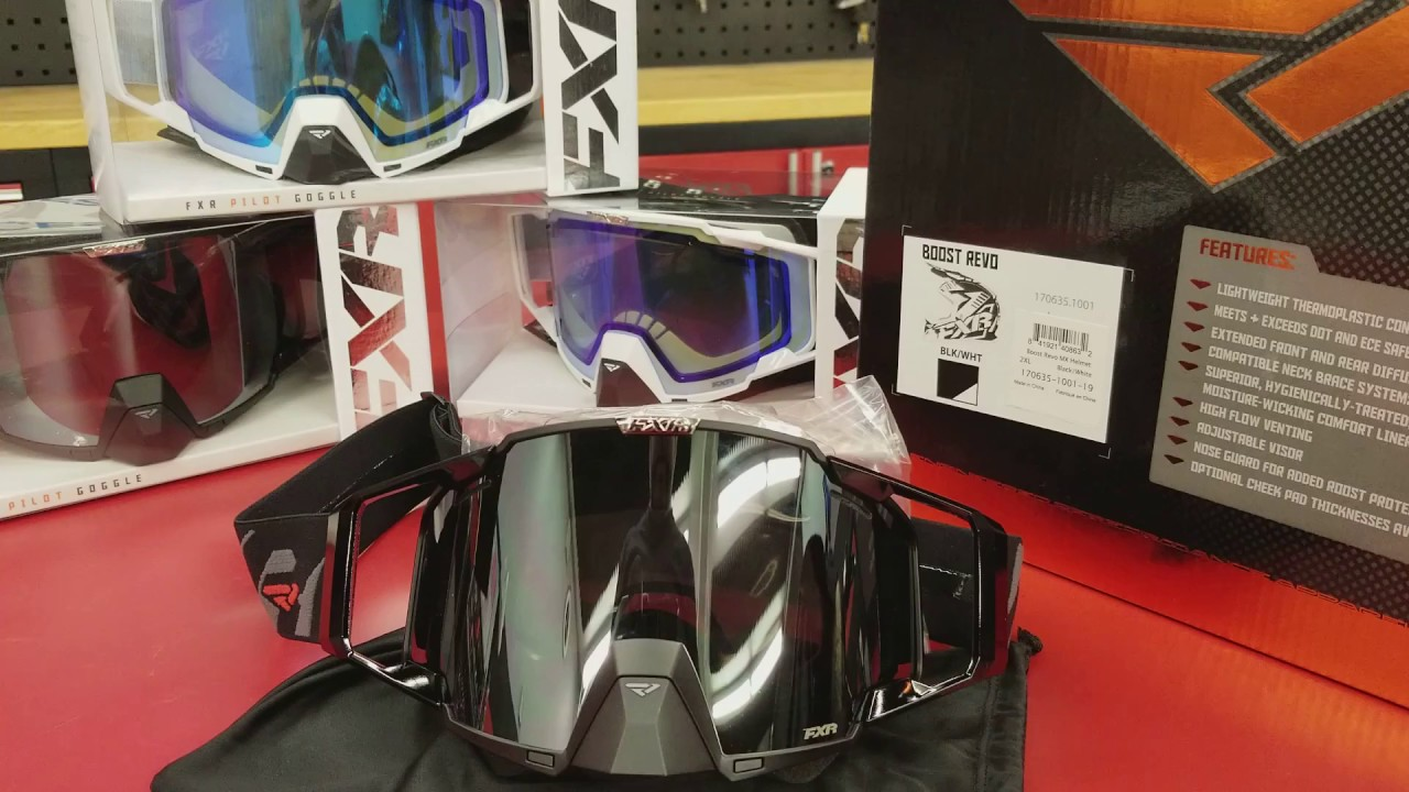204994681be2 FXR Pilot Goggle Unboxing. SnowTrax Television