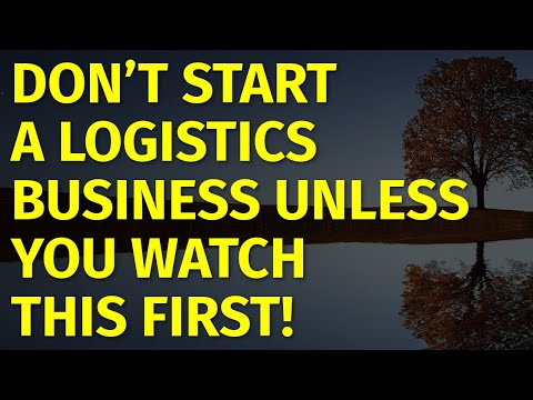 How To Start A Logistics Business | Including Free Logistics Business Plan Template