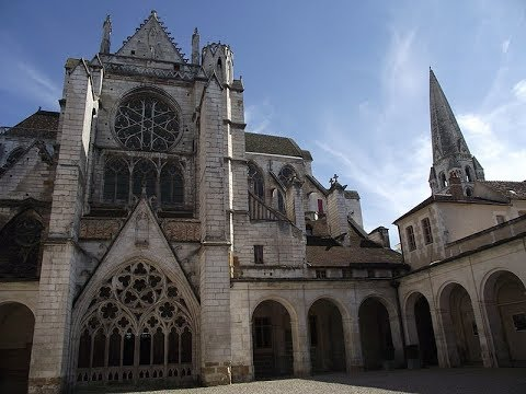 Places to see in ( Auxerre - France ) Abbaye de Saint Germain d'Auxerre