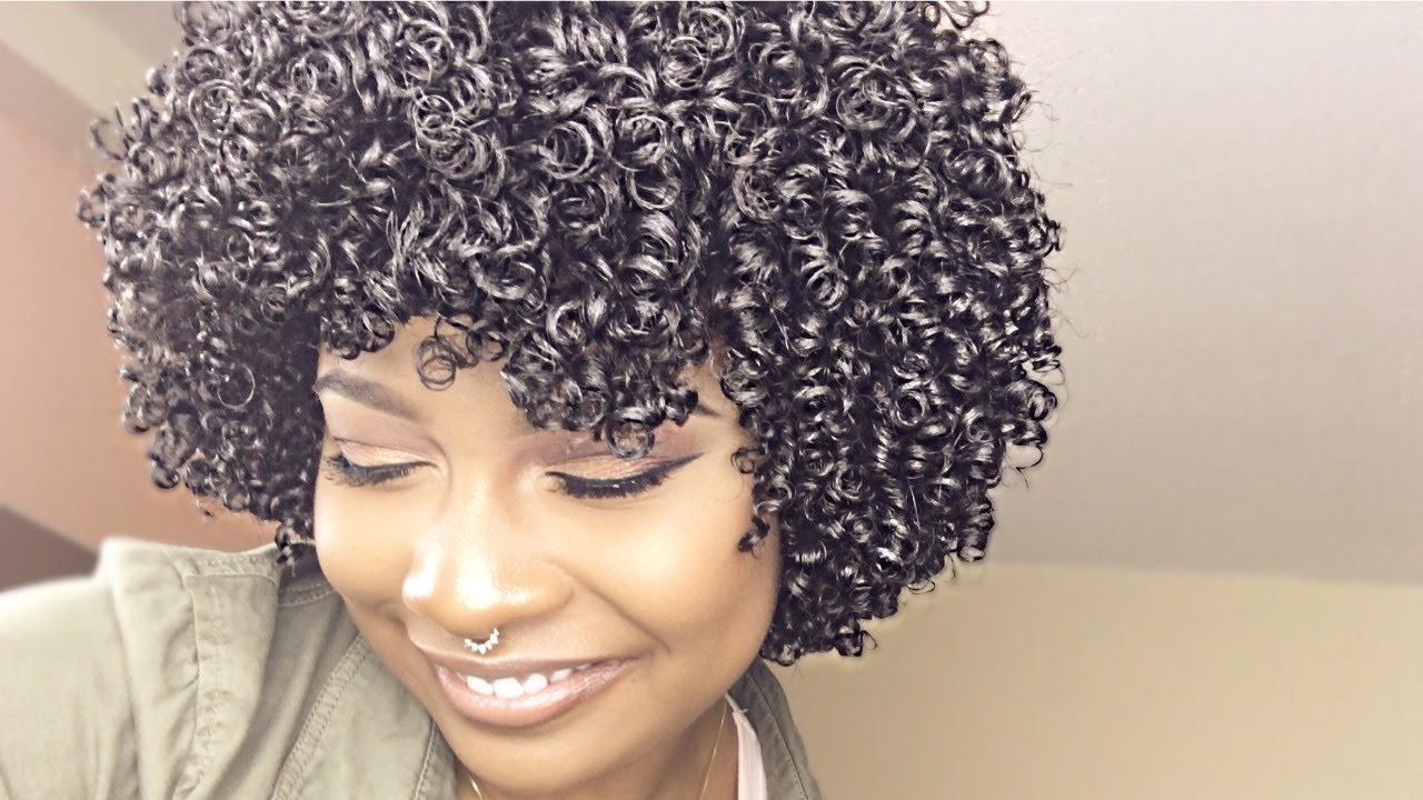 Hair Style Zero: Perfect Ultra Defined Curls W/ ZERO Frizz! Finger Coiling