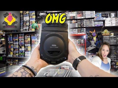 AMAZING NEW Retro Game Hunt | Sega Multi Mega CONSOLE | RARE Retro Games | Rare Consoles | TheGebs24