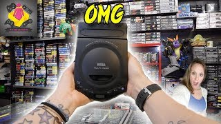 AMAZING NEW Retro Game Hunt | Sega Multi Mega CONSOLE | RARE Retro Games | Rare Consoles | TheGebs24