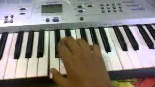 Airtel tune on the keyboard, with Hip Hop beats