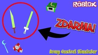 🤺🏹 2 SUPER SWORDS FOR FREE! + New Magicians 🏹🤺/#3/ROBLOX/Army Control Simulator/jurasek05