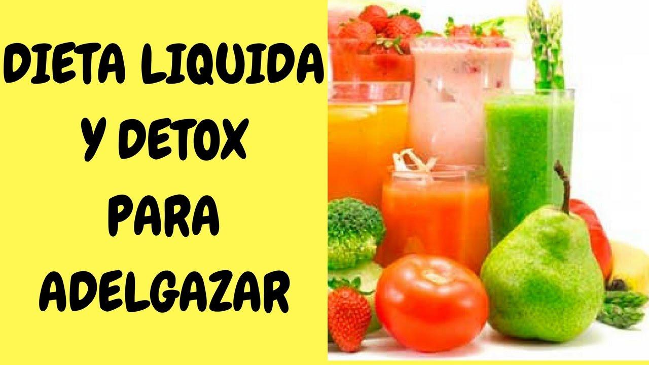 dieta care for liquida de 5 dias