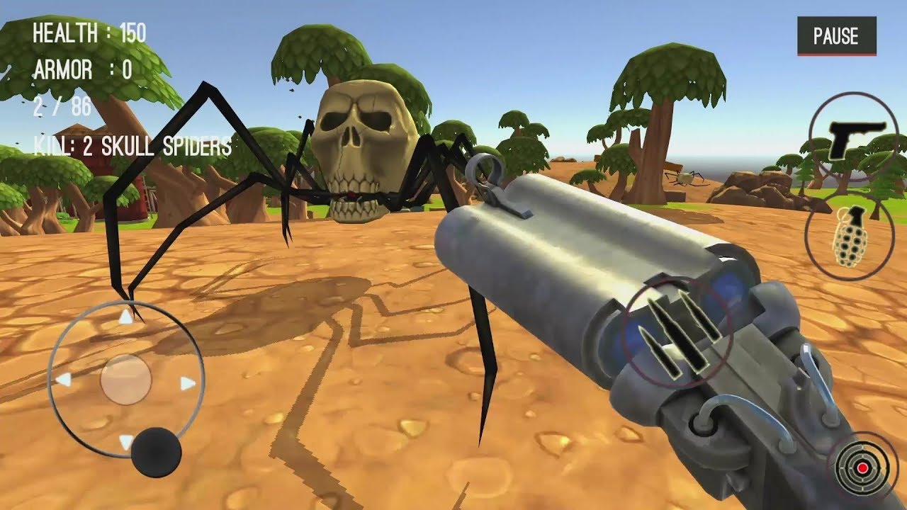 Spider Hunter Amazing City 3D Android Gameplay #14