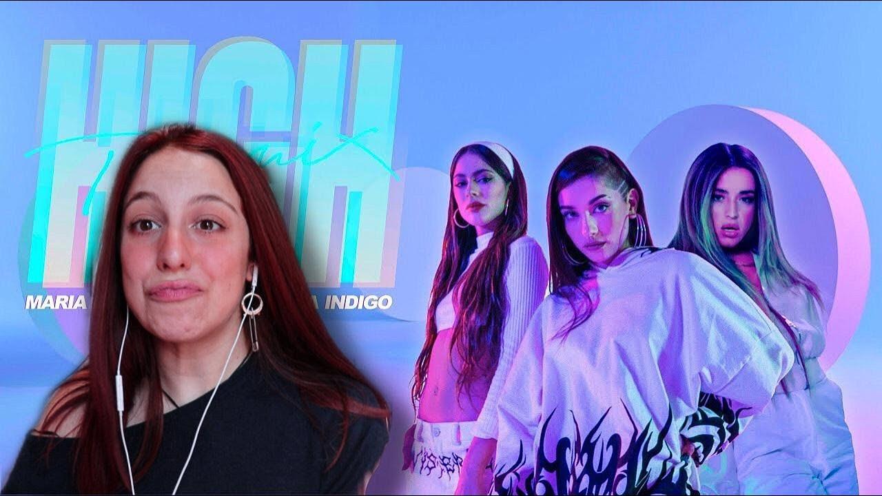 REACCIONANDO a HIGH REMIX MARIA X TINI X LOLA / Valentina Soca