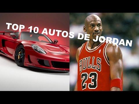TOP 10 COCHES DE MICHAEL JORDAN