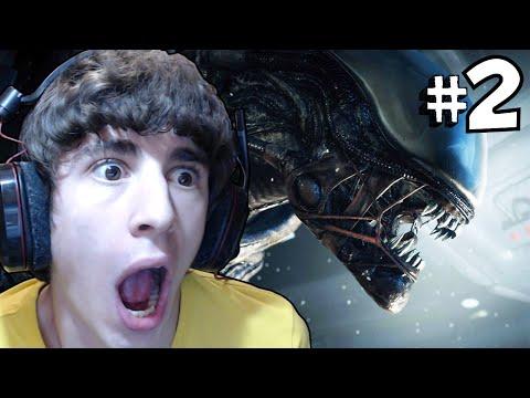 Alien Isolation - Parte 2 - INCONTRO CON ALIEN!! (é un figo)