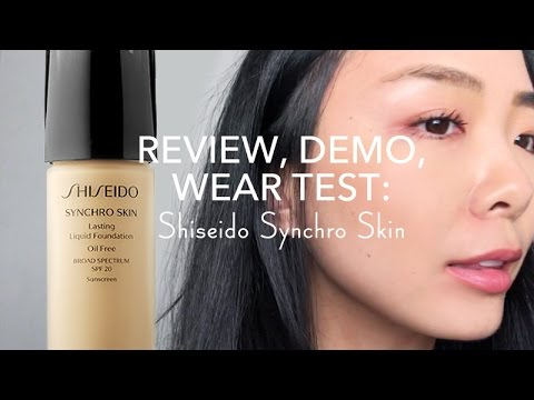 shiseido foundation test