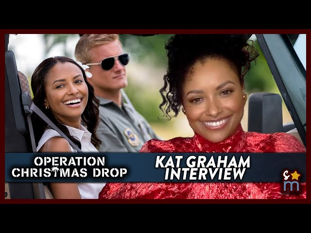 KAT GRAHAM Talks OPERATION CHRISTMAS DROP, Misconceptions & More | Exclusive Interview