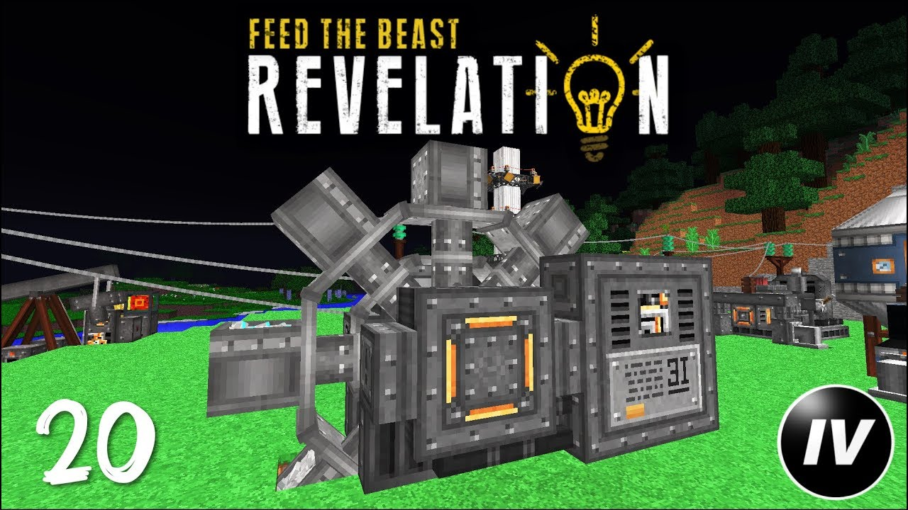 FTB Revelation - Ep 20 - Immersive Excavation
