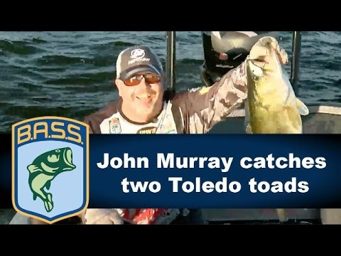 John Murray Toledo Bend toads on Championship Sunday