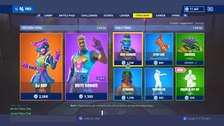 *NEW* ITEM SHOP SKINS COUNTDOWN! January 2nd New Fortnite Skins LIVE! (Fortnite Item Shop Live