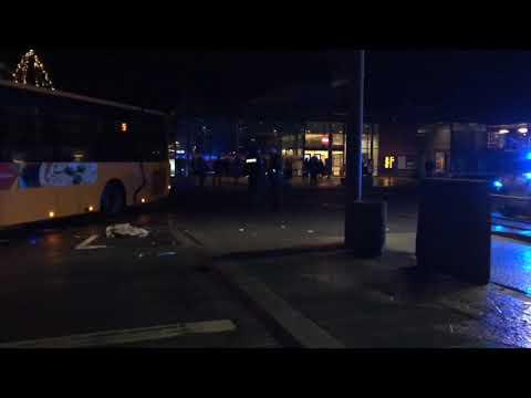 Busulykke ved Vejle Trafikcenter