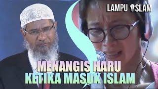 Wanita Ini MENANGIS HARU Ketika MASUK ISLAM | DR. ZAKIR NAIK