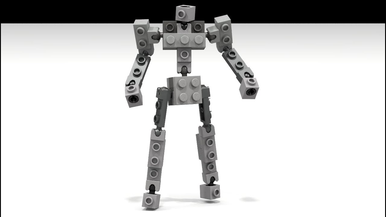New Lego Ball Joint Action Frame By Bwtmt Brickworks Youtube