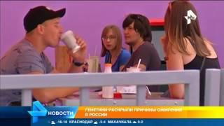 Генетики раскрыли причины ожирения в России