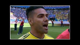 Colombia vs Jap�n: Las redes se emocionan con Falcao cantando el himno - MARCA Claro Colombia