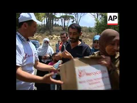 Aid flights arriving at airport, plus Turkish aid ship arriving at port