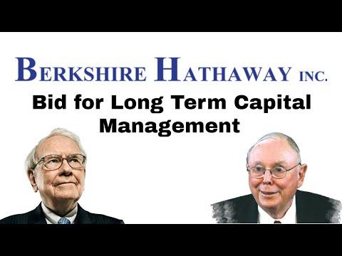 Bid for Long Term Capital Management | Miscellaneous | Warren Buffett | Berkshire Hathaway