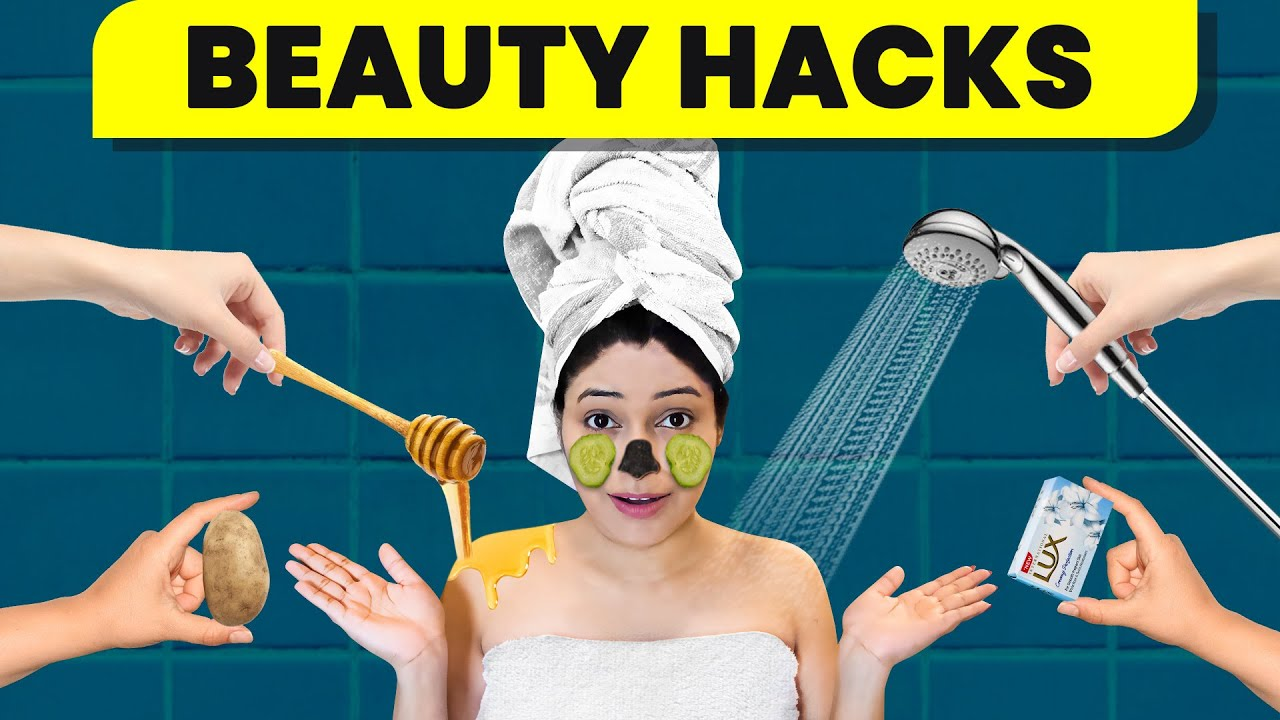 8 Life Saving BEAUTY HACKS You Must Try 100%Natural Shower Hacks|Full Bodycare #Skincare |Be Natural