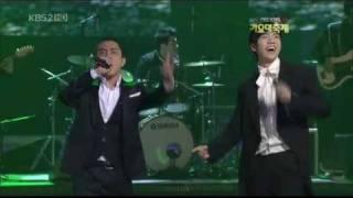 Lee Seunggi, MC Mong, Lee Sugeun & Eun Jiwon - Let's Go On Vacation [Gayo Daejun 12.30.2009]