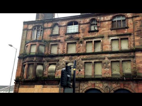 British Linen Company Bank, Gorbals Street. Gorbals- Dilapidated building-12/09/15