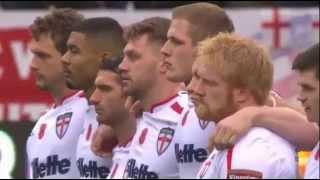 National Anthems (& Haka) - England vs New Zealand [3rd RL Test 2015]