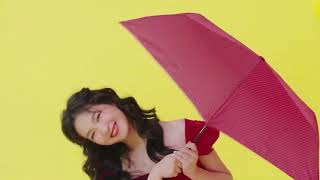 2019 靚星演員作品:【每天、美好出門!】抗UV篇-nifty colors 97克晴雨傘【涵緯】