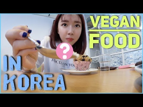 TRYING OUT VEGAN FOOD IN KOREA Ft. Youtube Friends!