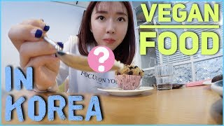 figcaption TRYING OUT VEGAN FOOD IN KOREA Ft. Youtube Friends!