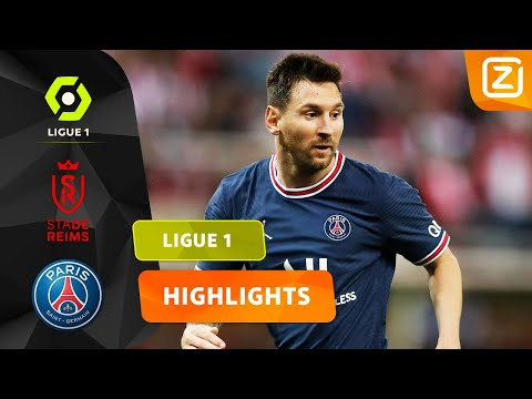 HET PSG-DEBUUT VAN LIONEL MESSI! 🐐🤩   Stade Reims vs PSG   Ligue 1 2021/22   Sam