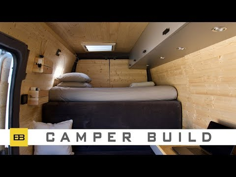 Custom Camper Van - How to Build - 1