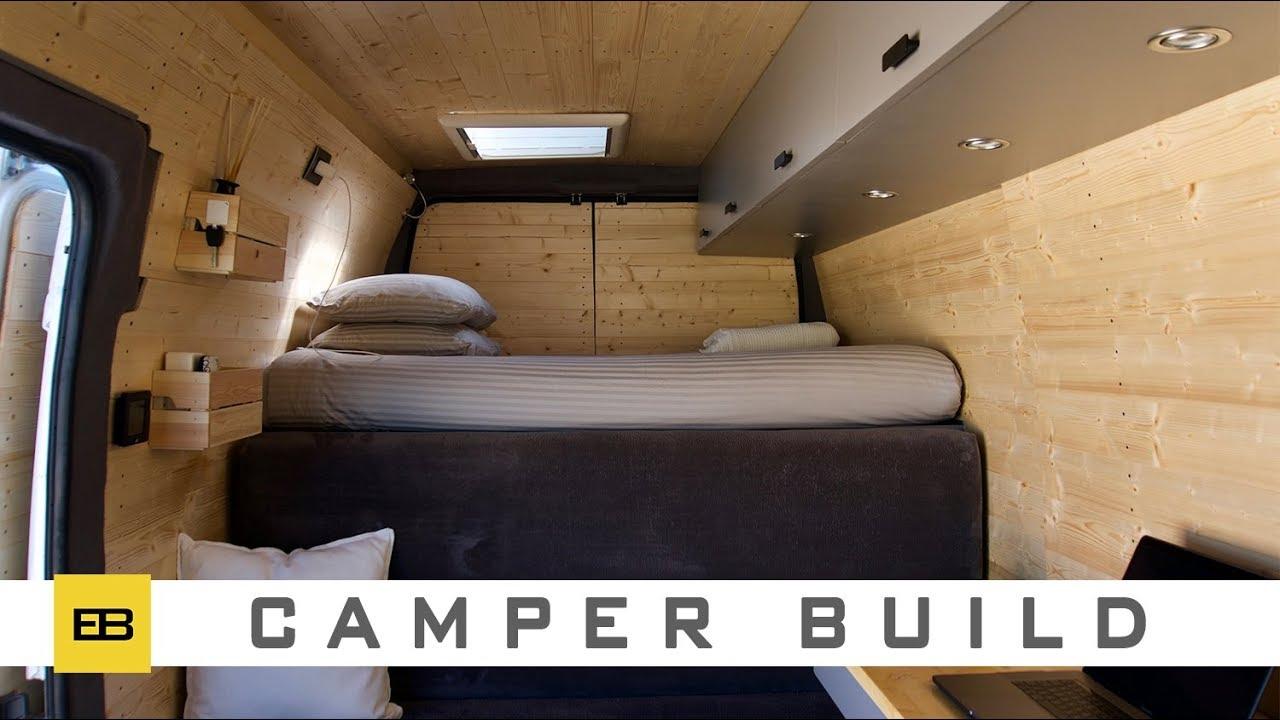 Mercedes Van Camper >> Custom Camper Van - How to Build - 1 - YouTube