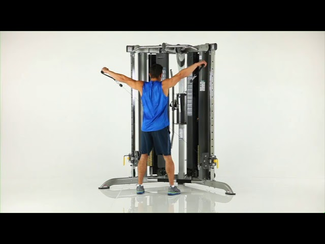 Shoulder Exercises | CXT-200 Functional Trainer | TuffStuff Fitness