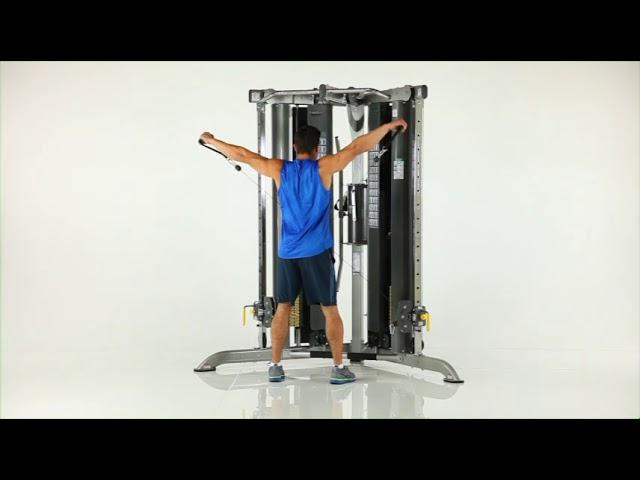 Shoulder Exercises | CXT-200 Functional Trainer | TuffStuff Fitness