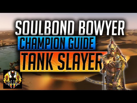 RAID: Shadow Legends | Soulbond Bowyer Champion Guide | Tank Slayer | Rare for Arena, FK & Spider!