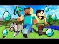 FINDING DIAMONDS!! MINECRAFT w/ MY GIRLFRIEND!! (Minecraft #2)