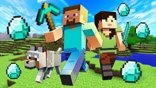 Finding Diamonds!! Minecraft W/ My Girlfriend!! Minecraft #2