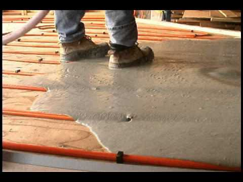 Gypcrete Concrete Pour Mov Youtube