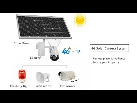 GatoCam 4G LTE Solar Camera with Audio Alarm