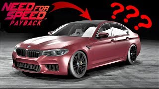NFS Payback custom BMW M5